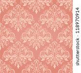damask seamless pattern for... | Shutterstock .eps vector #118970914