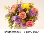 paper flowers  for souvenir . | Shutterstock . vector #118971064