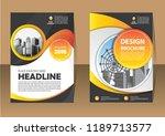 business abstract vector... | Shutterstock .eps vector #1189713577