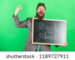 rock this school.. teaching... | Shutterstock . vector #1189727911