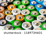 energy abstract background of... | Shutterstock . vector #1189734601