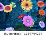 autumn outdoor floral...   Shutterstock . vector #1189744234