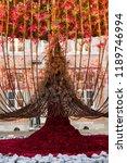 autumn indoor floral decorations   Shutterstock . vector #1189746994