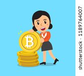 cryptocurrency concept a...   Shutterstock .eps vector #1189764007