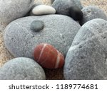 abstract smooth round pebbles... | Shutterstock . vector #1189774681