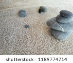 abstract smooth round pebbles... | Shutterstock . vector #1189774714