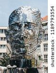 prague  czech republic   august ... | Shutterstock . vector #1189793554