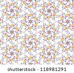 seamless pattern background...   Shutterstock .eps vector #118981291