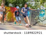 odessa  ukraine   08.09.2018 ...   Shutterstock . vector #1189822921