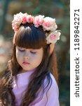 very beautiful elf girl.... | Shutterstock . vector #1189842271