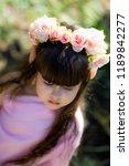 very beautiful elf girl.... | Shutterstock . vector #1189842277