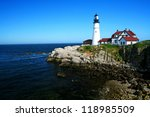 The Portland Head Lighthouse...