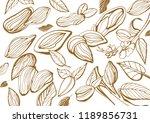 vector seamless pattern of... | Shutterstock .eps vector #1189856731