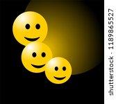 smile face background or... | Shutterstock .eps vector #1189865527