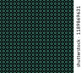 seamless pattern with small... | Shutterstock . vector #1189869631