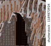 urban modern seamless pattern.... | Shutterstock . vector #1189873924