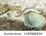 small spring at the west thumb...   Shutterstock . vector #1189888834