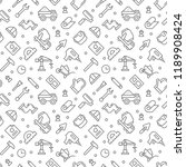 constructing pattern seamless...   Shutterstock .eps vector #1189908424