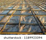 abstract background of iron... | Shutterstock . vector #1189923394