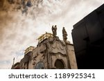 low angle views of the cemetery | Shutterstock . vector #1189925341