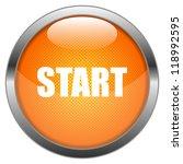 vector button start | Shutterstock .eps vector #118992595