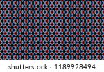 seamless pattern with small... | Shutterstock . vector #1189928494