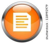 vector button letter | Shutterstock .eps vector #118992979