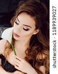 portrait of beautiful young... | Shutterstock . vector #1189939027