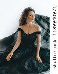 portrait of beautiful woman... | Shutterstock . vector #1189940971