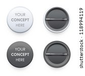 set of badges on white... | Shutterstock .eps vector #118994119