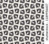 elegant damask floral vector... | Shutterstock .eps vector #1189956607
