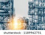 close up industrial zone. plant ... | Shutterstock . vector #1189962751