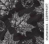 autumn vector seamless pattern... | Shutterstock .eps vector #1189994197