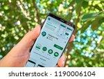 montreal  canada   august 28 ... | Shutterstock . vector #1190006104