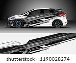 car decal wrap design vector.... | Shutterstock .eps vector #1190028274