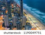 aerial view of skyscrapers and... | Shutterstock . vector #1190049751