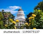 california state capitol... | Shutterstock . vector #1190075137