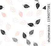 light red vector seamless... | Shutterstock .eps vector #1190077381