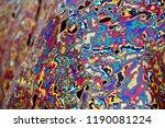 coloured pattern in beijing  | Shutterstock . vector #1190081224