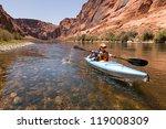 kayaking the colorado river ... | Shutterstock . vector #119008309