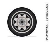 car wheel. wheel of the... | Shutterstock .eps vector #1190098231