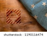 flag  and symbol made in... | Shutterstock . vector #1190116474