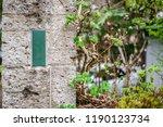 side walkway and columns... | Shutterstock . vector #1190123734