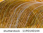 detail on iron rods structure... | Shutterstock . vector #1190140144