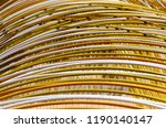 irond rods structure made with... | Shutterstock . vector #1190140147