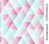 abstract polygon color graphic... | Shutterstock .eps vector #1190144611