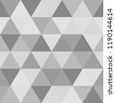 abstract polygon grey graphic... | Shutterstock .eps vector #1190144614