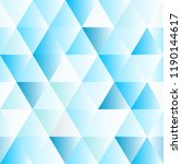 abstract polygon blue graphic... | Shutterstock .eps vector #1190144617