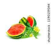 fresh  nutritious and tasty... | Shutterstock .eps vector #1190159344