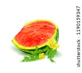 fresh  nutritious and tasty... | Shutterstock .eps vector #1190159347